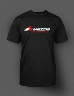 Show off your passion for Mazda Motorsports with this comfortable shirt! Water based print for a durable and lasting look.