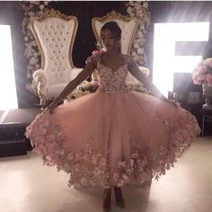 Elegant Cap Sleeve Pink Prom Dress with Handmade Flower, Long Prom Gown, Prom Dresses H3943 by Fashiondressy, $152.10 USD Flower Girl Dresses, Prom Dresses, Wedding Dresses, Hair Wedding, Royal Clothing, Floral Gown, Popular Dresses, Party Gowns, Dream Dress