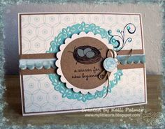 Stamps used: New Beginnings and Fanciful Flourishes – Designed by Kelli Palmer