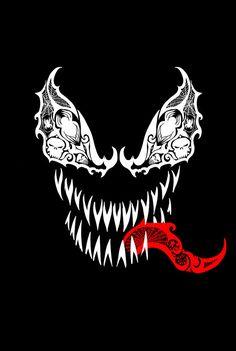 Tribal Venom Fine Art Print by LVBart on Etsy