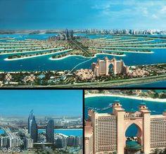 SICIS for ATLANTIS HOTEL - DUBAI #SICIS #Tile #Mosaic #Art Mosaic Art, Atlantis, Marina Bay Sands, Dubai, Tile, Building, Projects, Travel, Log Projects