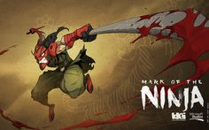 "Check out the ""Might"" wallpaper I did for Mark of the Ninja"