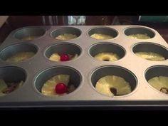 Mini Pineapple Upside Down Cakes Recipe - Laura Vitale - Laura in the Kitchen Episode 771 - YouTube
