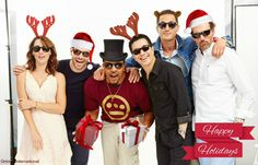 """""""Happy Holidays Everyone! Wishing you all a wonderful Grimm Tv Show, Tv Shows, Couple Photos, Happy Holidays, Portland, Fandoms, Entertainment, Film, Twitter"""