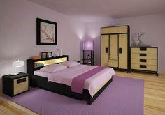 Rocking Violet Room