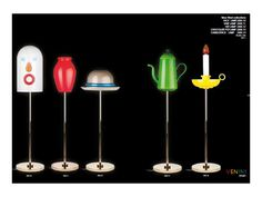 Five standing lamps by Studio Job - designer spotlight