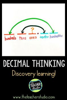 1538 best upper elementary math resources images on pinterest why arent there oneths in decimals fandeluxe Images