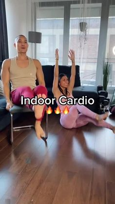 Cardio Workout At Home, Gym Workout For Beginners, Gym Workout Tips, Fitness Workout For Women, Workout Videos, At Home Workouts, Band Workout, Senior Fitness, Low Impact Workout