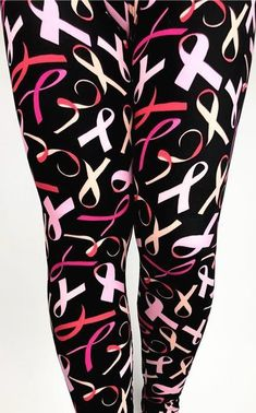 Autism Awareness Puzzle Hearts Yoga One Size Leggings OS Buttery Soft FREE SHIP