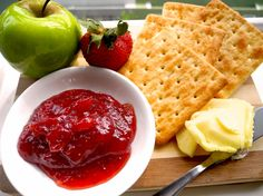 Nothing beats the sweet-smelling scent of fresh homemade strawberry jam in the morning... :)