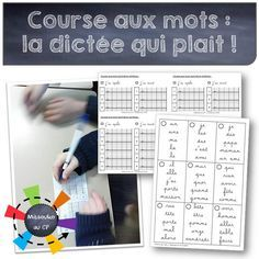 La course aux mots ou la dictée revisitée - the running dictation - Mitsouko au CP - Tap the link to shop on our official online store! You can also join our affiliate and/or rewards programs for FRE Teacher Hacks, Best Teacher, Back To School Hacks, School Stuff, Teachers Corner, French Classroom, Spelling Activities, Teaching French, Word Work