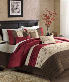 Another great find on #zulily! Brick Kennedy Comforter Set by JLA Home #zulilyfinds