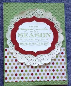 Christmas club card by skitter - Cards and Paper Crafts at Splitcoaststampers