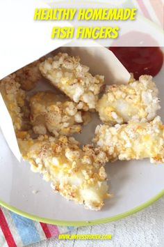 These homemade fish fingers got a big thumbs up in my house with the kids! My little fussy eater loves the packaged fish fingers and I sometimes make my own but with breadcrumbs so I was intrigued to try the alternative coating! And I have to say I was impressed. They were super crispy and really easy to make, taking less than 30 minutes from start to finish! #fishfingersrecipe #homemadefishfingers #healthyfishfingers #foodforkids Fish Recipes For Kids, Best Fish Recipes, Fussy Eaters, Picky Eaters, Homemade Fish Fingers, Rice Cakes, Kids Meals, Alternative, Good Food