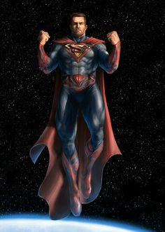 Superman Redesigned by Curtis Walkerwood