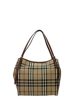 19d6025f6e73 Women s  Small Canter  Horseferry Check Tote Bag with Equestrian Saddle  Straps Honey Tan