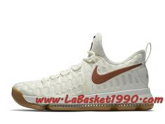 online store 9e597 a320a Nike KD 9 Texas 899640-110 Chaussures Nike Prix Pas Cher Pour Homme Blanc  Rouge