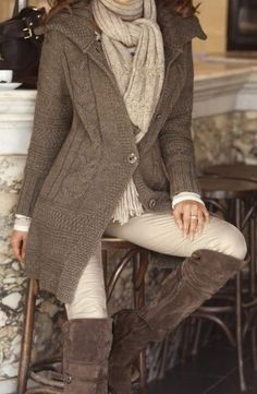 comfy, cozy, and classy...