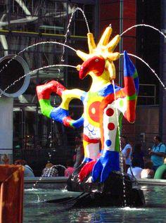 Paris - Stravinsky fountain by Niki de Saint Phalle