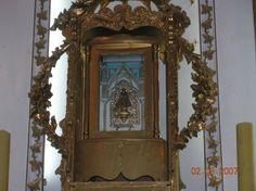 Imagen original de la Virgen de la Candelaria encontrada por Mariano Caro Inca - Copiapó, Atacama.