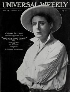 All sizes | Thundering Dawn - Universal Weekly - Nov. 10, 1923 | Flickr - Photo Sharing!