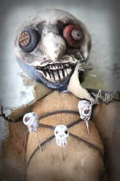 OOAK Original Extreme Primitive Art Doll by cumberlandfallsarts, $59.00