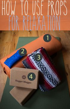 Pin it! How to use yoga props for yin relaxation poses