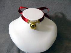Tokyo Mew Mew chocker worn by Ichigo/Zoey. As a kid, I always wanted one. $7.00, via Etsy.