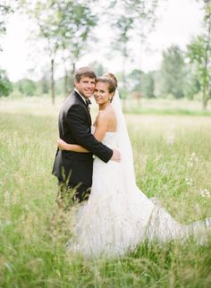 Bride and groom: http://www.stylemepretty.com/2014/04/24/a-classic-farm-wedding-in-pennsylvania/ | Photography: KT Merry - http://www.ktmerry.com/