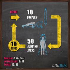 Séance de CrossFit sans matériel avec 2 exercices à faire n'importe où !