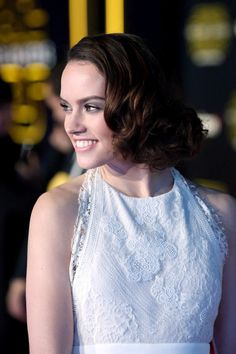 Premiere of 'Star Wars: The Force Awakens' - Red Carpet - Daisy Ridley (Star Wars)