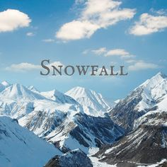 sheet music - Snowfall // for the late elementary piano student