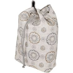 Raymond Waites Drawstring Sealable Laundry Bag with Handle and Shoulder Strap