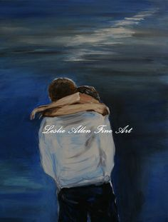 Couple In Love Couple Slow Dancing Couple Kissing by EnjoyTheView, $75.00
