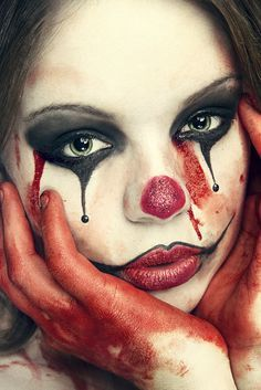 Clowns terrify me but, for some reason, I love this.