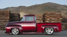 Bodie Stroud seriously updates the 1956 Ford F-100 into the BSI X-100