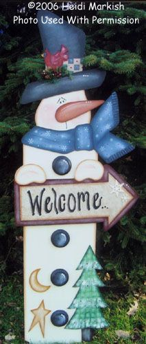 000748 (1) Welcome Snowman-
