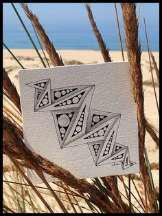 "Zentangle® Inspired Art : ""Play-ING Around"" by ha! designs"