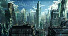 30 Breathtaking Future City Concept Art