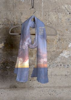 Cashmere Silk Scarf - Golden Clouds by VIDA VIDA PpZJHWsgL