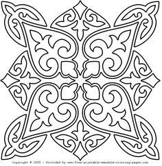Desenhos da Mandala para Colorir | Desenhos para colorir Online - Desenhos para Imprimir