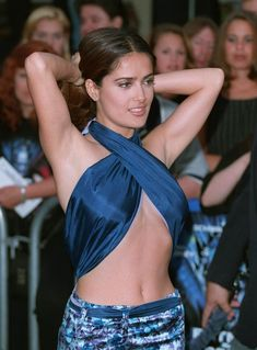 Salma Hayek batman and robin premiere