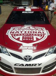 Michael Waltrip's - 2012 Back to Back National Champions race car at Talladega, May 2013