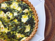 Potato, Spinach, and Goat Cheese Quiche Recipe | Serious Eats