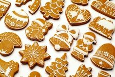 simple gingerbread...Not sugar cookies, but just as cool!
