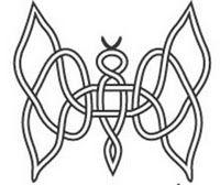 Celtic Butterfly Pattern 1