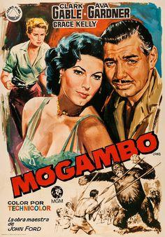Mogambo (1953) Clark Gable, Ava Gardner, Grace Kelly, Donald Sinden.