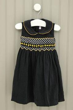 lullaby set Size 18-24M Corduroy Smocked Dress