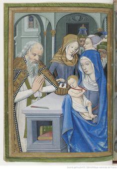 Horae ad usum Parisiensem. 1475-1500, BnF, Département des manuscrits, Latin 1173 24v