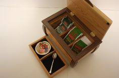 Handmade Wooden Box For Sale